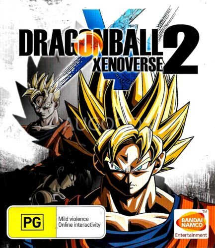 Dragonball 2 Xenoverse Xbox One GAME GREAT CONDITION