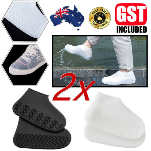 Recyclable Silicone Overshoes Rain Waterproof Shoe Covers Boot Cover Protector A