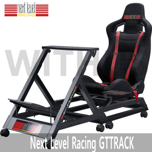 New Next Level GTTRACK Racing Simulator Cockpit Gaming Chair for PS3 PS4 Xbox