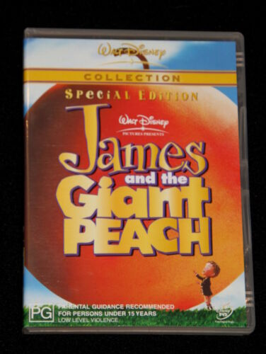 DVD - James and the giant peach: Special Edition - Walt Disney