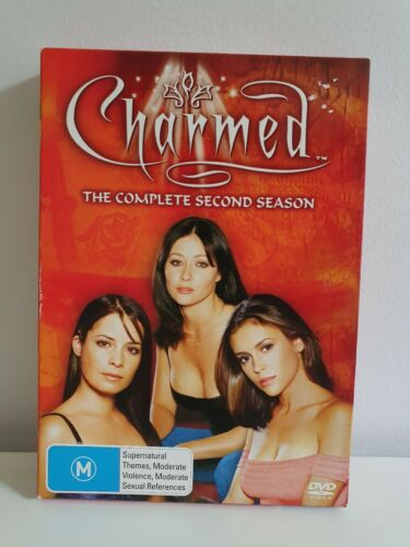 CHARMED Complete Season 2 Box Set 6 Discs 3 Dvd Cases