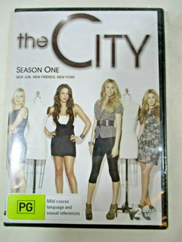 The City Season One PG PAL 2010 Paramount Pictures. 2 disc set Brand New Sealed.