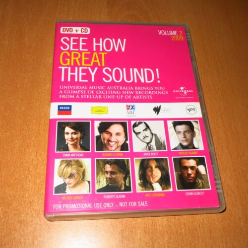 SEE HOW GREAT THEY SOUND ! ( DVD + CD ) VOLUME 2 , 2009