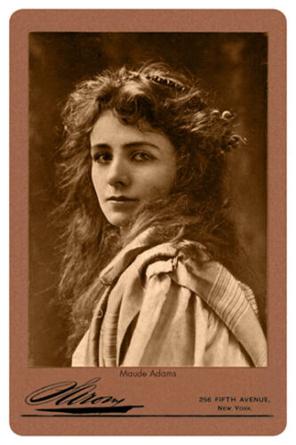 MAUDE ADAMS Acclaimed Actress Vintage Photograph A+ Reprint v2 Cabinet Card CDV