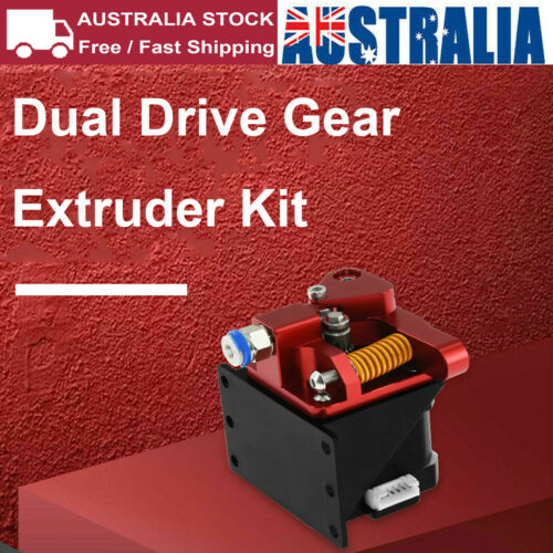 Remote Dual Drive Gear Extruder Kit for Creality 3D Printer Ender 3 /CR-10S AU