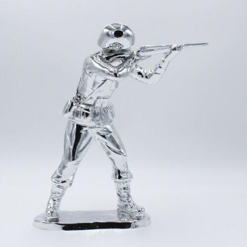 Scultura 3D Soldato Peacekeepers Alessandro Padovan Pop Art fucile no war