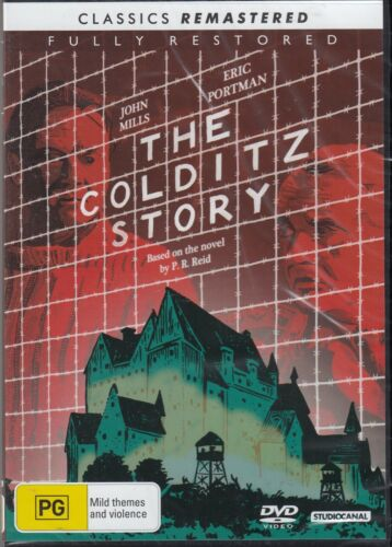 The Colditz Story - John Mills New and Sealed DVD