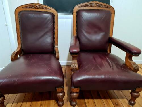 Antique Chairs English Oak