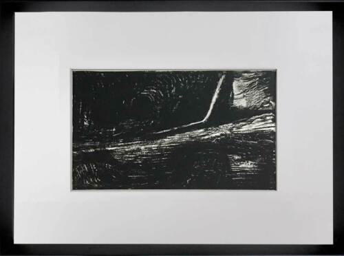 """Henry MOORE Lithograph ORIGINAL """"Tunnel"""" 1973 Ltd. Ed w/Archival FRAME"""