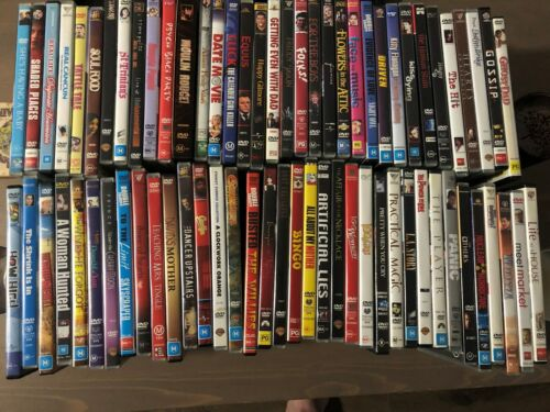 Variety of DVD movies for sale! Region 4. <br/> Combined shipping and bulk discounts.