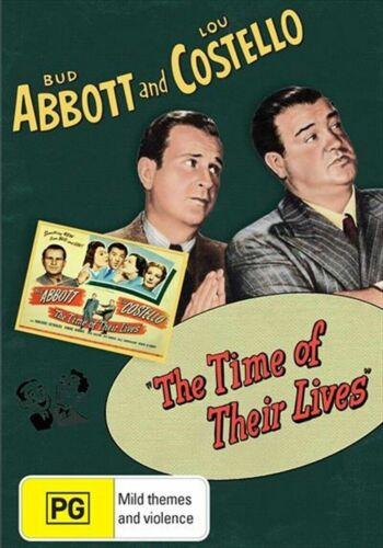 The Time Of Their Lives  - Abbott and Costello New and Sealed DVD