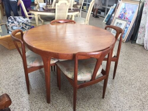 DANISH MODERN FAARUP MOBELFABRIK KOFORD LARSEN TEAK DINING TABLE ONLY NO CHAIRS