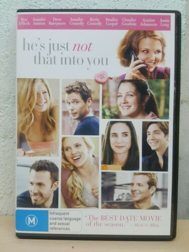 He's Just Not That Into You DVD, 2009 R4 Drew Barrymore Bradley Cooper