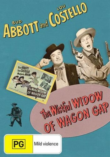 The Wistful Widow Of Wagon Gap - Abbott and Costello New and Sealed DVD