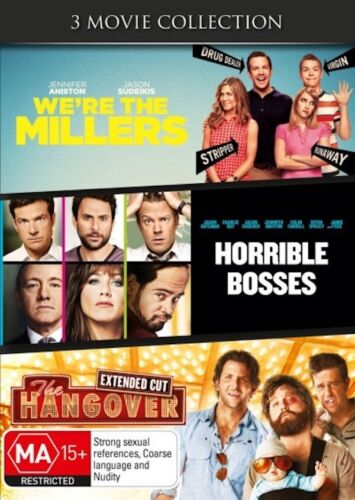 We're the Millers /Horrible Bosses /The Hangover 3 Movie Collection Region 4