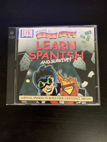 Welcome To Mean City: Learn Spanish And Survive PC CDROM 1999 Win 95/MAC