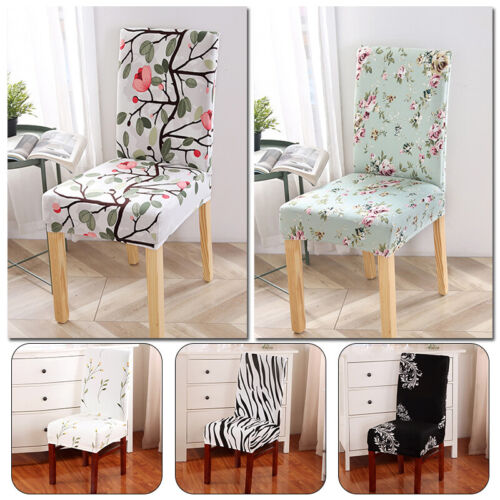 Removable Printing Elastic Slipcover Case Spandex Chair Cover Home Decoration