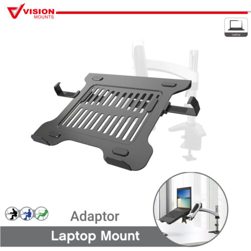 Laptop Notebook Adaptor Tray Holder Stand for Monitor Desk Arm VESA VM-LH03