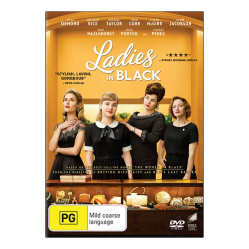 Ladies in Black DVD Brand New Region 4 Aust. - Angourie Rice - Free Post