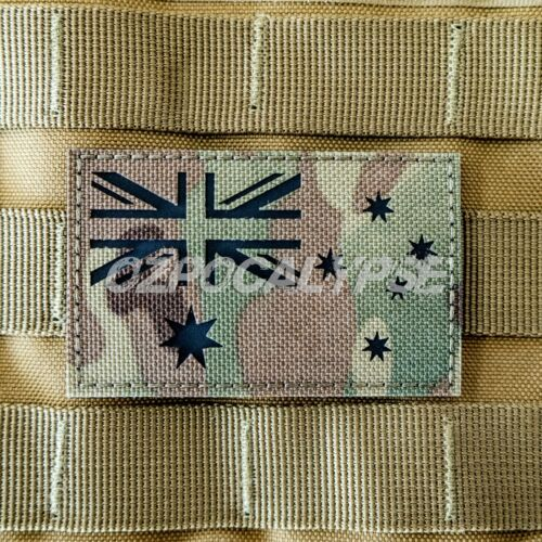 Multicam Australian Flag Patch - Tactical Army Adf Military not amcu tbas dpcuModern, Current - 36066