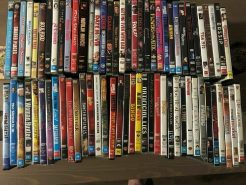 Variety of DVD movies for sale! Region 1 (Usa/Canada format).  Some rare!