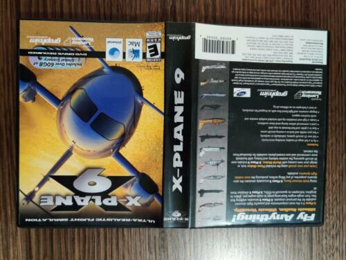 X-Plane 9 for MacOS 6 Disk version