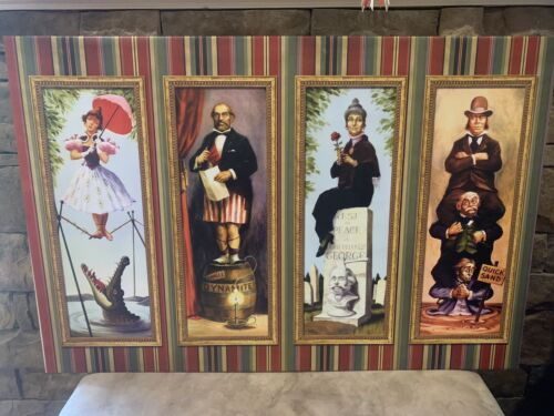 Haunted Mansion Stretching Room Portraits Canvas Disneyland Disney World <br/> 2 SIZES & Ready to Hang!!!!