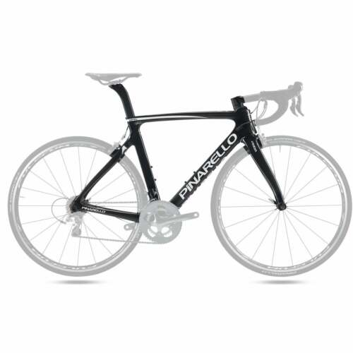 Pinarello Gan Carbon Fiber Frameset - Carbon Gloss Black 252 Bike Frame