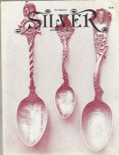 Silver Magazine Sept-Oct 1981: Aesop's Fables in Silver, Prize Cups & Much More