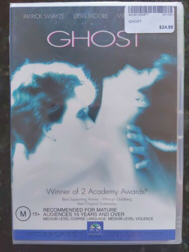 Ghost [Region 4 DVD] BRAND NEW & SEALED, Free Next Day Post from NSW