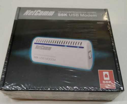 Genuine Brand New Netcomm USB 56K Modem AM5067 - New in Box