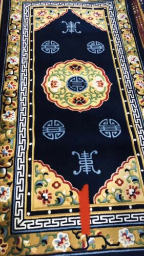 NEW Chinoiseries Oriental Art Deco Chinese Pictorial Antique looking Rug Carpet