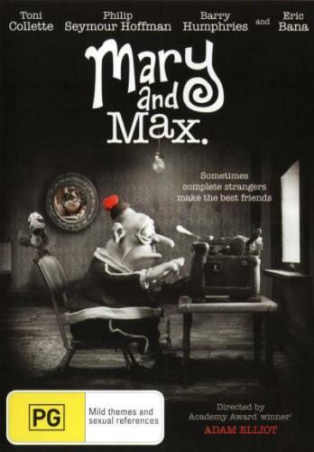 Mary and Max  - DVD - NEW Region 4