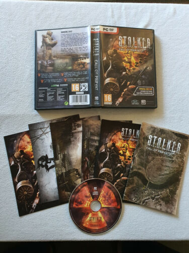 Stalker Call of Pripyat Special Edition - No Game DVD