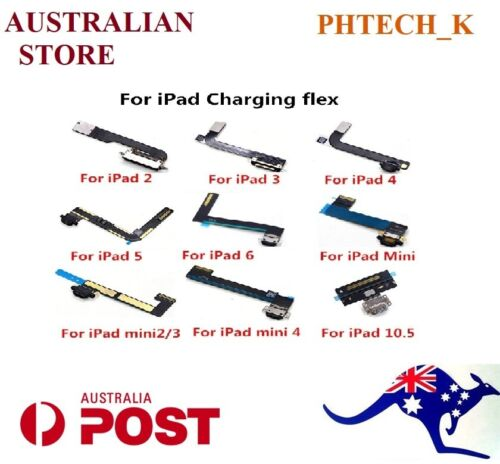 iPad 2/3/4/AIR/1/2/2017/2018/2019/MINI1/2/3 Charging Dock port Connector Flex