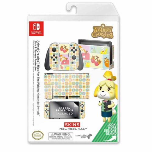 Controller Gear Nintendo Switch Skin Set (Animal Crossing Ripe for the Picking)