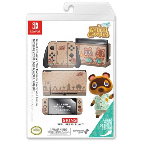 Controller Gear Nintendo Switch Skin Set (Animal Crossing Timmy Tommy)