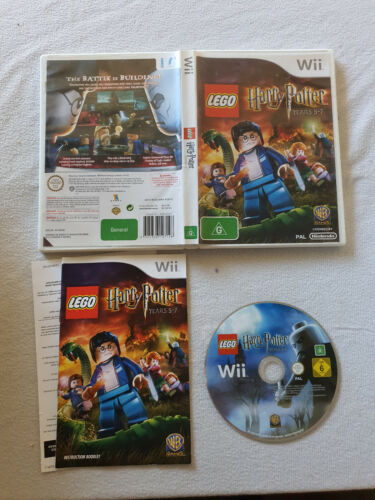 Harry Potter Years 5-7 Nintendo Wii + Tracking Postage