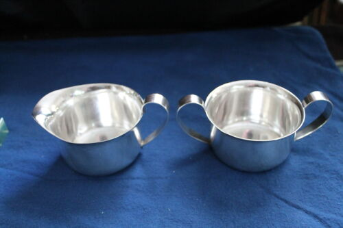 Arts & Crafts Porter Blanchard Sterling Silver Sugar & Creamer