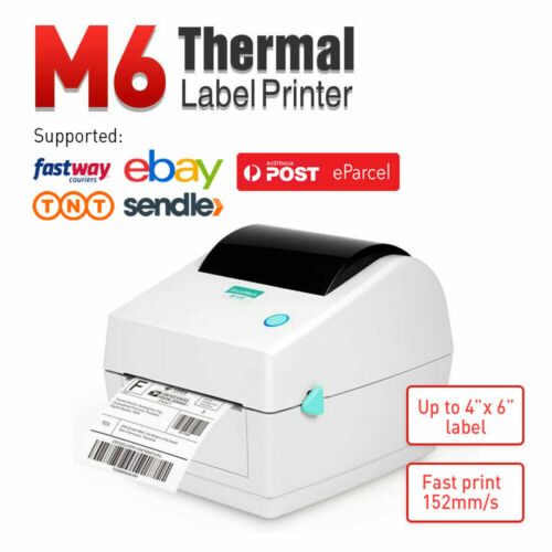 【Simple & Durable】Label Printer Thermal Shipping Address Barcode 4*6 150mm*100mm
