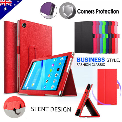 For Lenovo Tab M7 M8 Leather Smart Magnetic Flip Stand Protective Case Cover