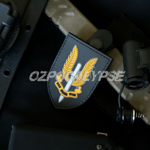 SAS Tactical PVC Patch - special air service army sasr military special forcesModern, Current - 36066