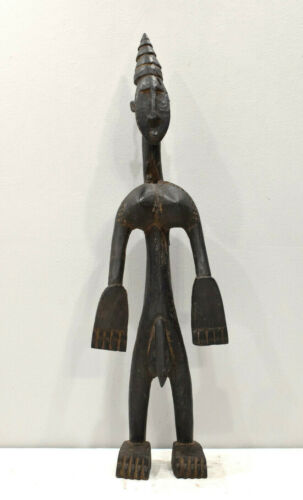 African Old Dogon Wood Statue Mali