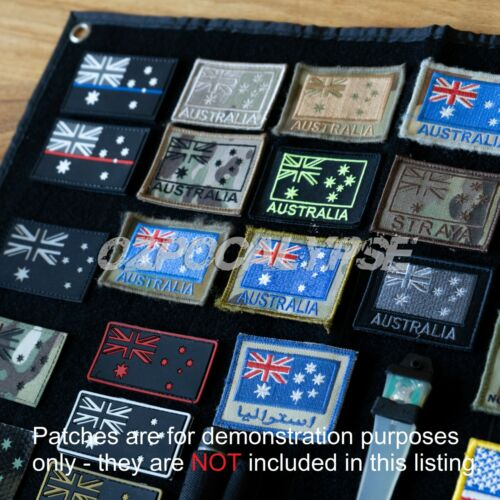 Tactical Patch Collection Panel - army military amcu dpcu sas multicam molle adfModern, Current - 36066