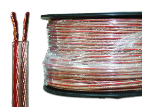 Speaker Cable 12, 14, 16, 18 AWG HIFI, Audio, Home Theatre <br/> 10, 20 or 100mtr length OFC Copper strands