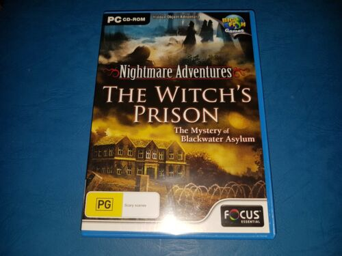 Nightmare Adventures The Witch's Prison Mystery Of Blackwater Asylum PC CD ROM