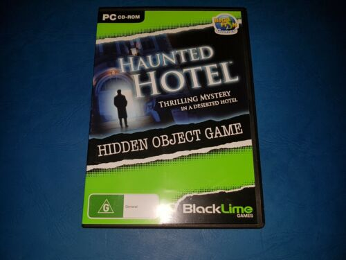 THE HAUNTED HOTEL - Hidden Object Game PC CD ROM