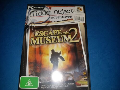 Hidden Object Adventures. Escape The Museum 2 PC CD ROM