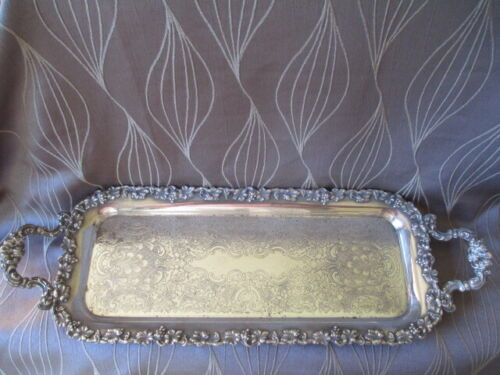 Antique Barker Ellis Silver Plated Tray