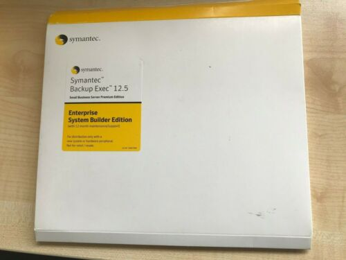 Symantec Backup Exec Small Business Server 12.5 Enterprise System Builder